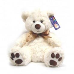Curly Teddy Bear (Cream)