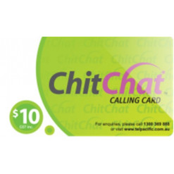 $10 Chit Chat Calling Card