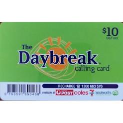 $10 Daybreak Calling Card