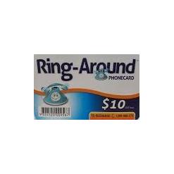 $10 Ring-Around Calling Card