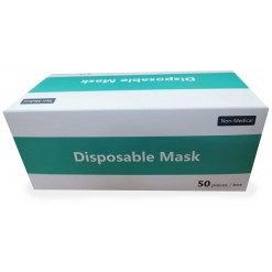3 Ply Disposable Face Masks...